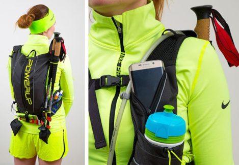 Рюкзак для бега PowerUp Mountain Race: обзор бюджетной модели для трейлраннинга