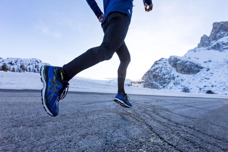 картинка бегущий человек зимой богатство заполнило