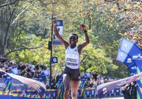 Джойсилин Джепкосгей: история успеха выдающейся кенийской бегуньи